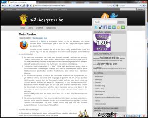 Mein Firefox von 15.06.2011