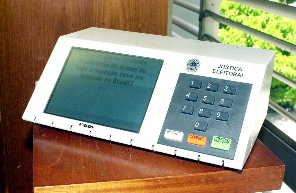 Wahlcomputer Brasilien, Foto: Gervásio Baptista/ABr
