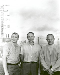 Apollo 11 Astronauts and Apollo-Saturn V Space Vehicle