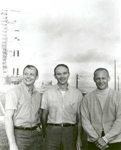 Apollo 11 Astronauts and Apollo-Saturn V Space Vehicle
