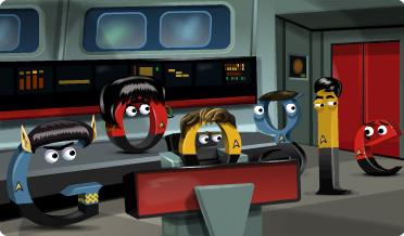 Google Doodle Star Trek 46. Geburtstag