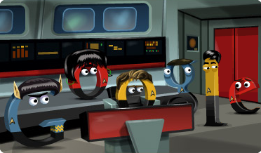 Google Doodle zum Star Trek Geburtstag