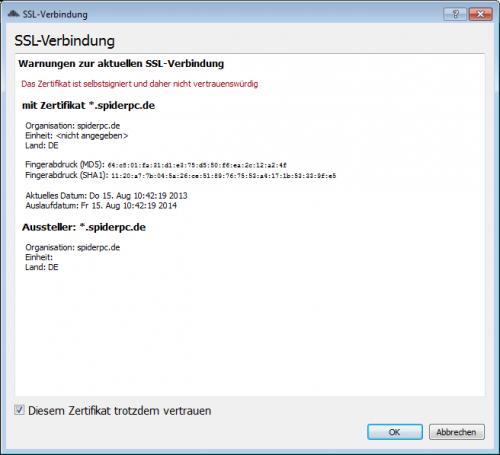 ownCloud-Client Windows Installation 2