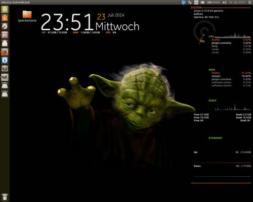 unity desktop starter automatisch